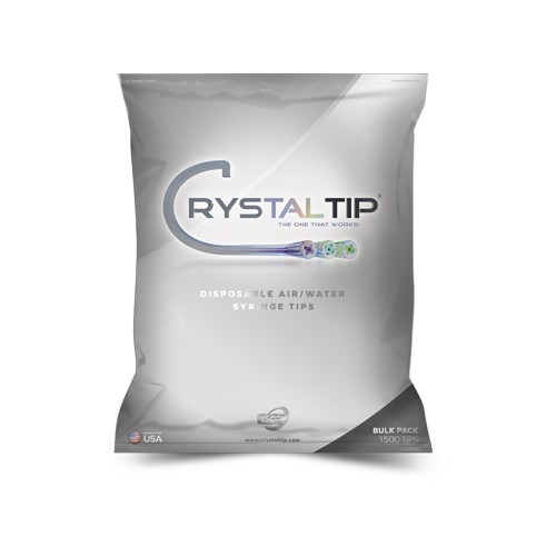 Air/Water Syringe Tips | Bulk Pack 1500 Tips - Crystal Tips