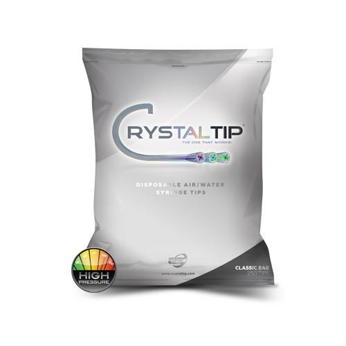 Air/Water Syringe Tips   Classic Bag HP 250 Tips - Crystal Tips