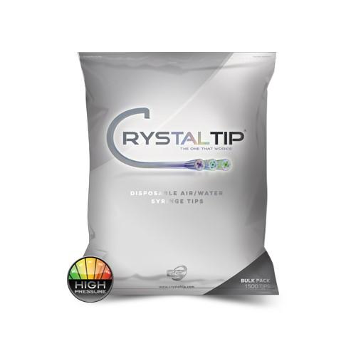 Air/Water Syringe Tips | Bulk Pack HP 1500 Tips - Crystal Tips
