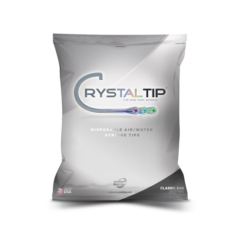 Air/Water Syringe Tips |  250 Tips - Crystal Tip