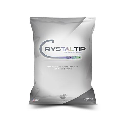 Air/Water Syringe Tips | Mega Pack 3000 Crystal Tips