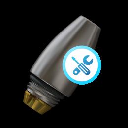Air/Water Syringe | Unic Heka o-ring repair Crystal Tip